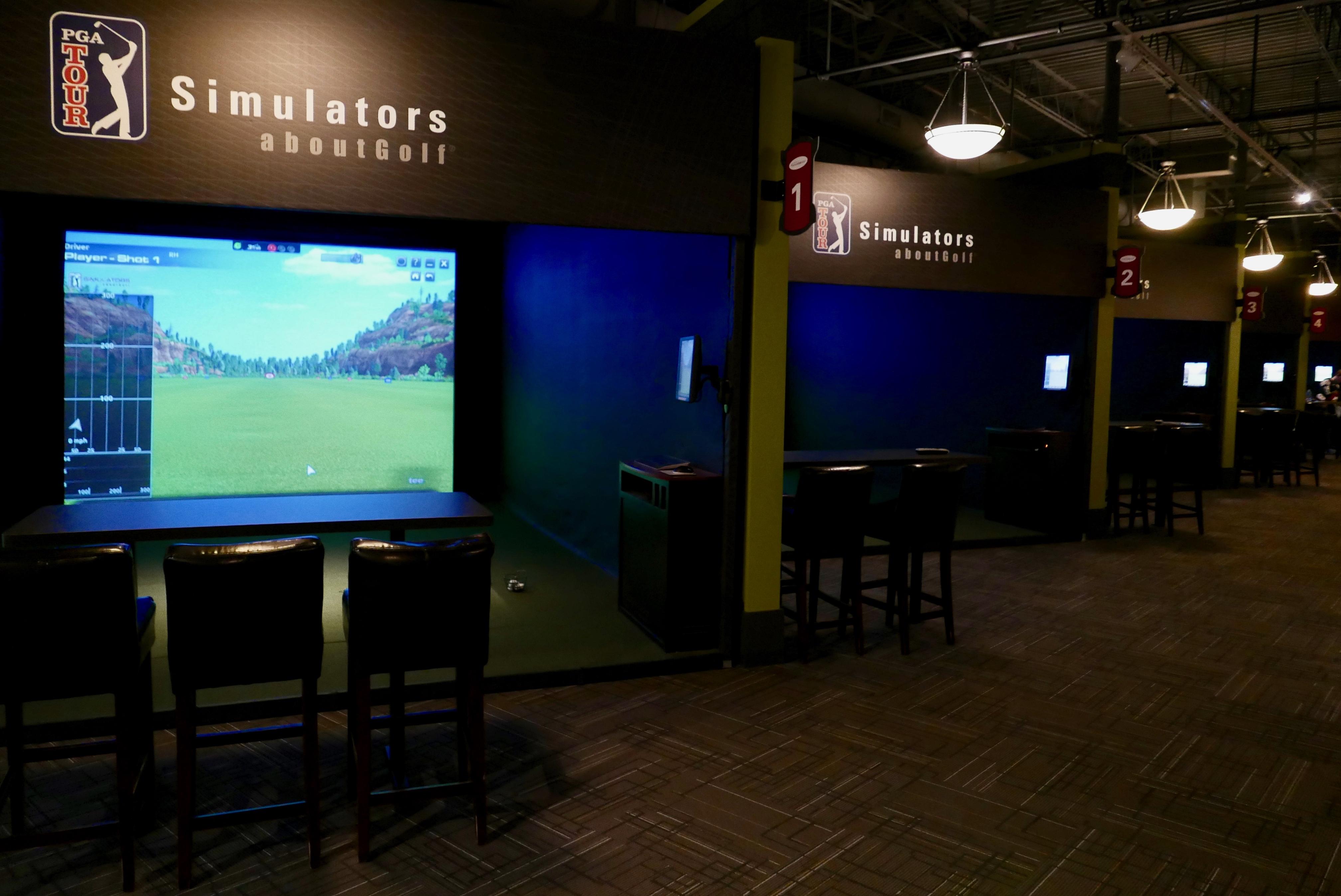 Inside Edge Golf Simulators In Eden Prairie Mn Pga Tour Simulators